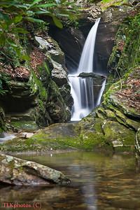 Duggers Creek Falls April 2011