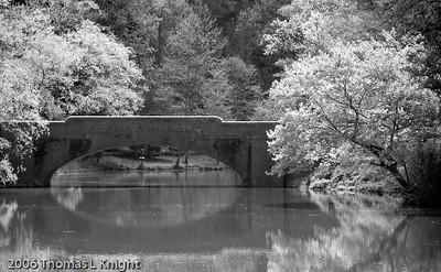 Bass Pond Bridge Biltmore Estate