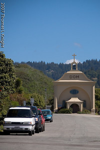 Old Chuch in Daveport, CA
