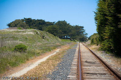 Old costal Rail Line, Davenport, CA