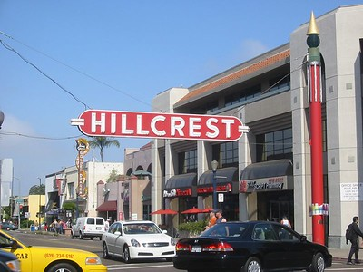Hillcrest...San Diego's gayborhood
