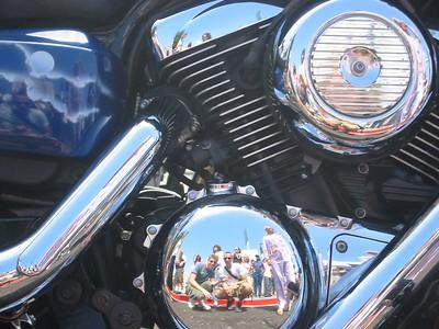 Dyke's Bike reflection