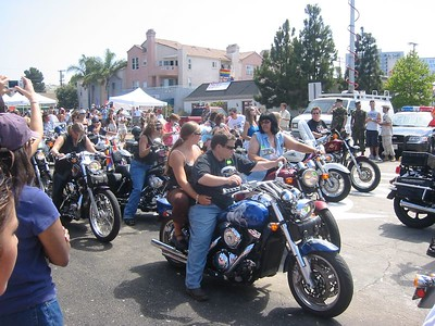 Every parade should start with Lesbian motorcycle enthusiasts