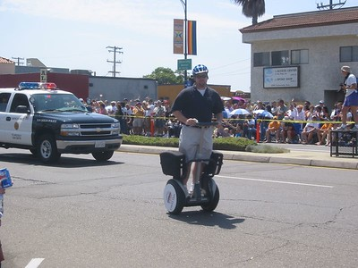 Their police force has a segway
