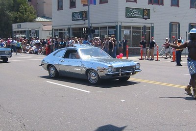 I learned to drive a stick on a Pinto.  It wasn't a disco ball Pinto.