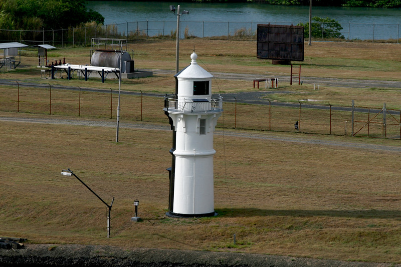 Lighthouse, Mira Flores Locks, Panama Canal