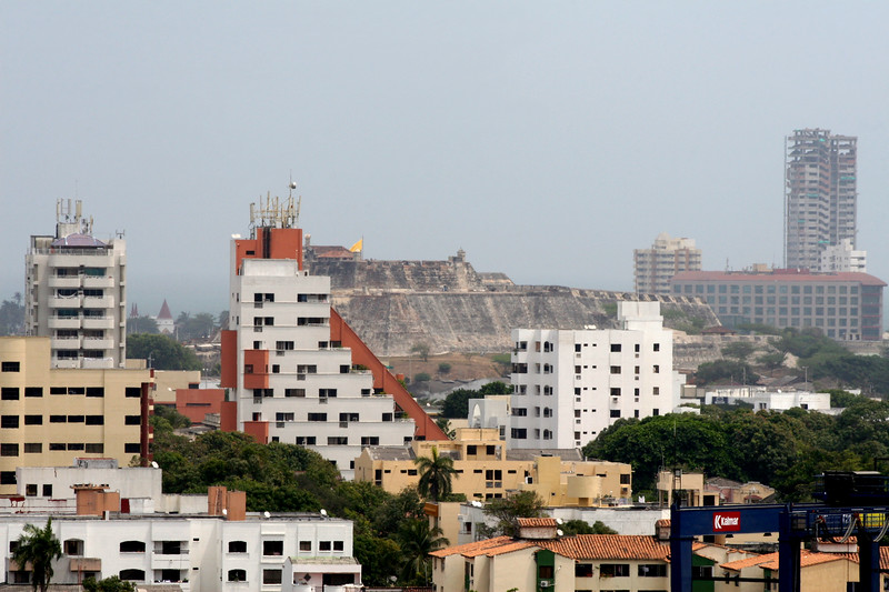 The Old Fort, downtown Cartagena, Colombia