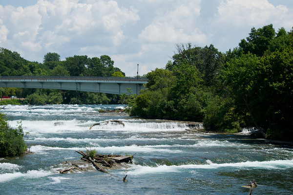 Niagara River Rapids  at Goat Island