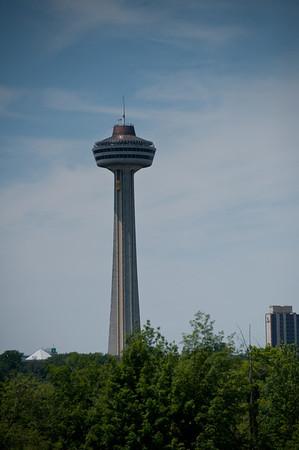 Skylon Tower from Goat Island