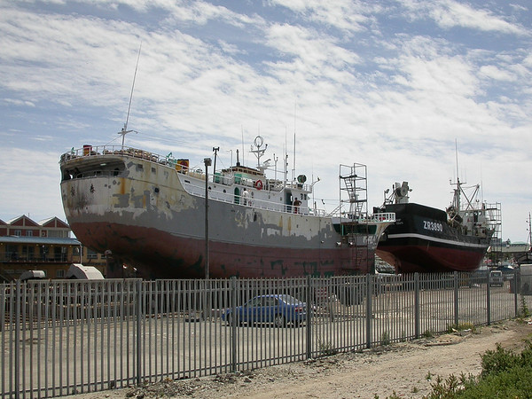 Drydock in Cape Town