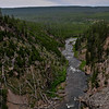 A river in Yellowstone Park