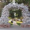 Antler Arch in Jackson Hole WY