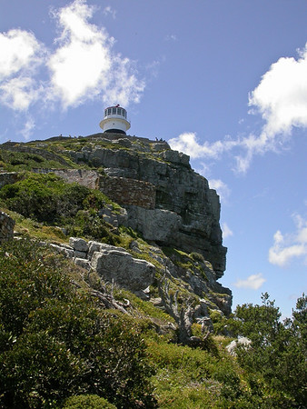Lighthouse at Cape Maclean on th Cape of Good Hope Peninsula
