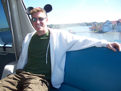 Me on the Monorail