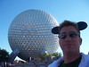 Me and the newly refurbished Spaceship Earth