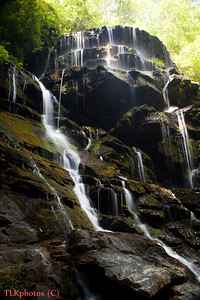 Yellow Branch Falls In Oconee County above Wahalla 06/30/2011
