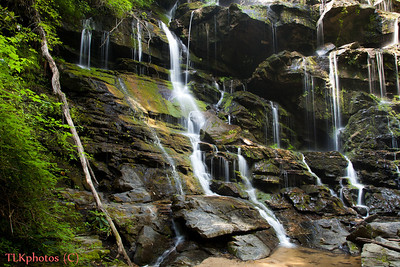 Yellow Branch Falls (closeup) In Oconee County above Wahalla 06/30/2011