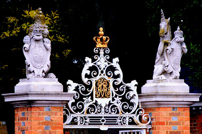 The gate to the Governor's Palace, Williamsburg, Va http://www.history.org/