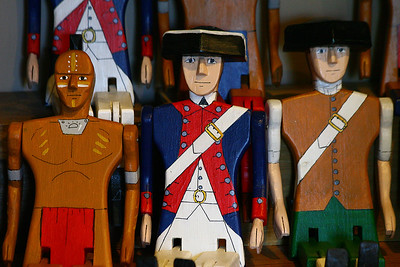 The main characters in Colonial Williamsburg, Va http://www.history.org/