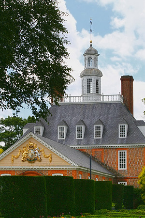 Governor's Palace from the Gardens, Colonial  Williamsburg, Va http://www.history.org/