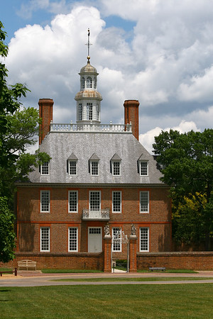 The Governor's Palace from the Green, Colonial  Williamsburg, Va http://www.history.org/