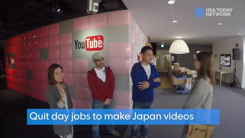 Visiting YouTube Tokyo