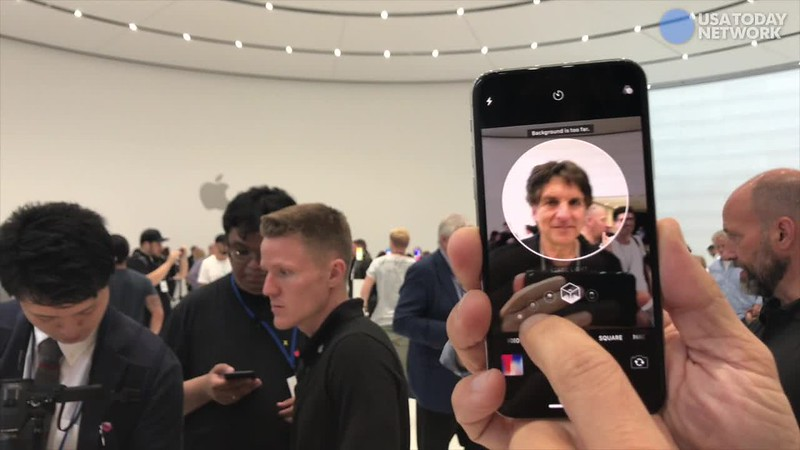 From the hands-on room at the Apple iPhone 2017 event