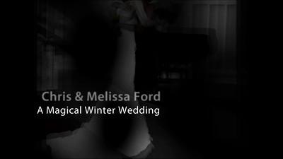 Melissa McStott and Chris Ford Wedding