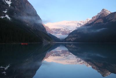 Punctuation - Lake Louise Alberta
