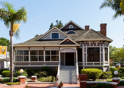 Perkins/Claberg House, Heritage Square, Oxnard, California
