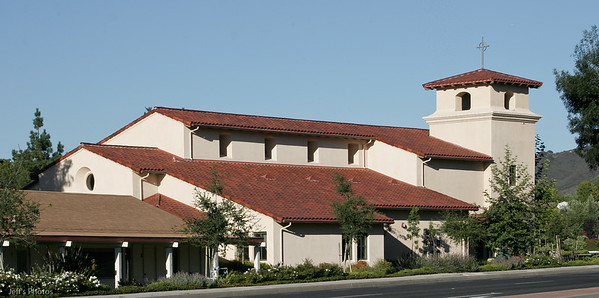 Sanctuary, Monte Vista Presbyterian Church, Newbury Park, California. Constructed 2003.