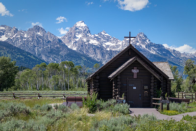 The Chapel of the Transfiguration, Grand Tetons National Park, Wyoming