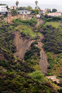 The Roberto Lane landslide occurred during the winter of 2004/2005. Several properties were affected.