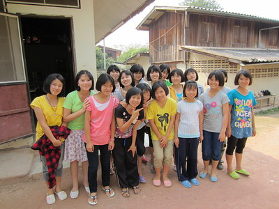 My Work at Thai and Hmong Orphanages, Boarding Schools, etc.