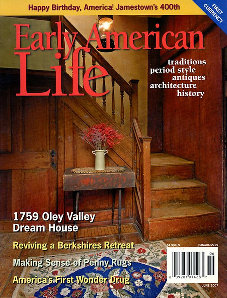 Early American Life featuring home of Grace and Elliott Snyder