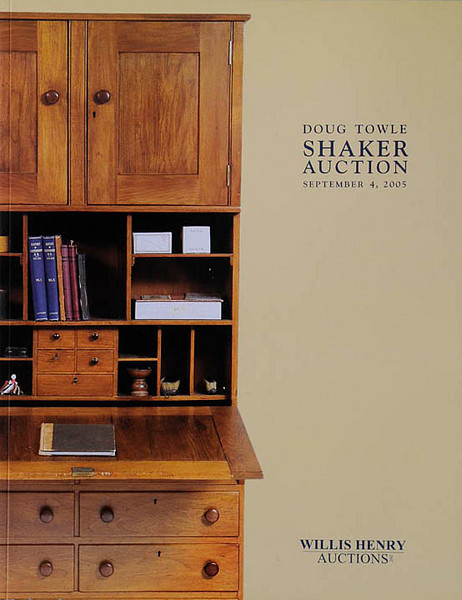 Shaker auction catalog shot on location in New Hampshire.