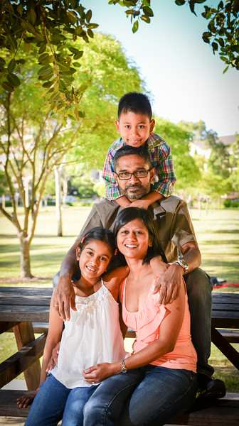 The Arunasalam Family