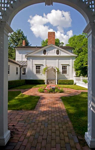 New Concord NY garden for  Daron Builta interior designer