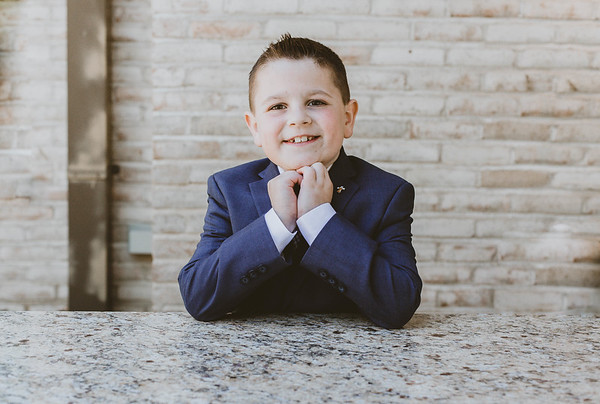 Tommy's First Communion