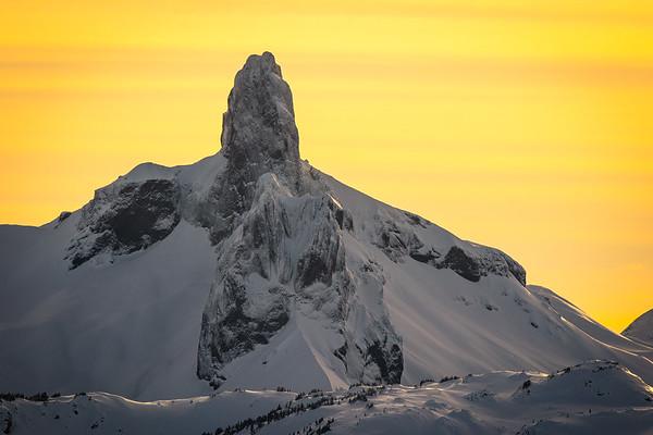 Black Tusk Sunset