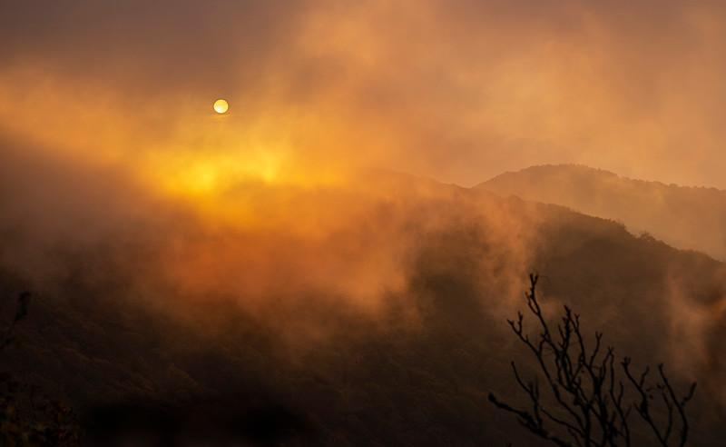 Craggy Mt. Sunset