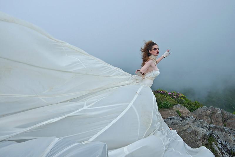 Angel on Craggy Gardens Peak