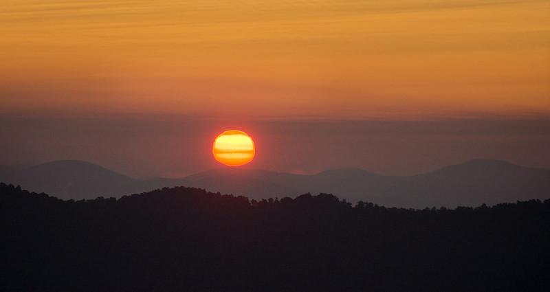 Pounding Mill Sunrise