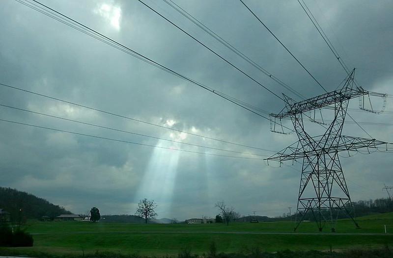 Power Lines on NC/Tenn border