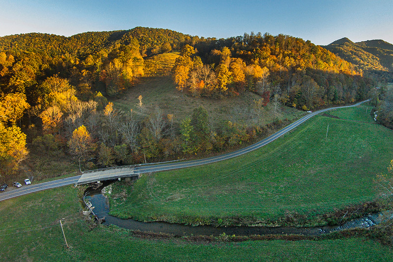 Drone photo for Land Conservancy, Oct, 2019