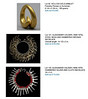A page from the Stair Gallery web site showing prices paid for this jewelry, two by Alexander Calder.