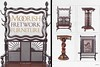 Two pages from 6 page story on Moorish Furniture for Antiques Magazine