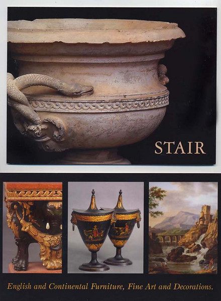"Stair Galleries, Hudson NY  Michael has taken over 30,000 photographs of art and antiques for this client since 2001.  Michael's photos are for ""cataloged auctions"" only.   <a href=""http://www.stairgalleries.com"">http://www.stairgalleries.com</a>"