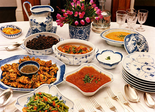For Ismile Merchant cookbook