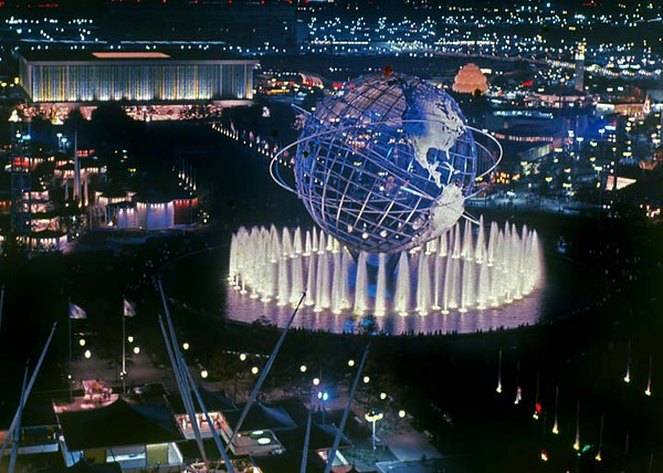 As a teenager I took this photo of the 1964 Worlds Fair.